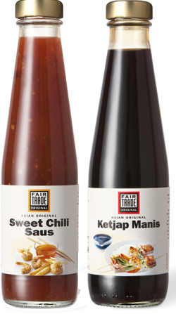 Fair Trade Original smaakmakers ketjap en Sweet Chili